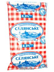 Молоко Селянське 450мл 3.2%  т.ф
