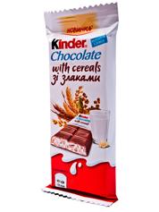 Шоколадний батон Кіндер 23г кантрі