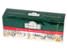Чай Ахмад 25п англійський сніданок ярлик