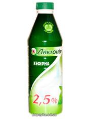 Кефiр Лактонія 900г 2.5% бут