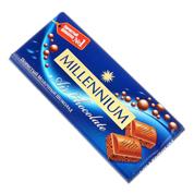 Шоколад Миллениум 90г пористый молочный