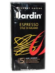 Кава Жардін 250г еспрессо ді мілано мелена