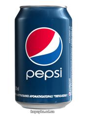 Вода Пепсi-кола 0.33л з.б