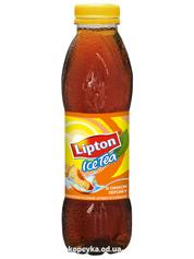 Холодний чай Ліптон 0.5л чорний персик