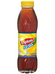 Холодний чай Ліптон 0.5л чорний лимон