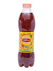 Холодний чай Ліптон 1л чорний з персиком
