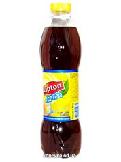 Холодний чай Ліптон 1л чорний з лимоном