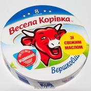 Сыр пл. Веселая коровка 120г сливочный