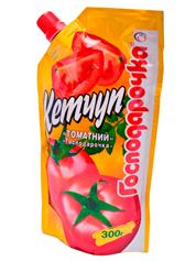 Кетчуп Господарочка 300г томатний д.п