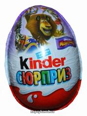 Шоколадне яйце Кіндер сюрприз 20г лицензия