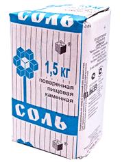 Сіль Артемсіль 1.5кг кам`яна картон