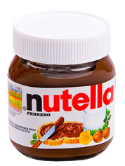 Паста шоколадна Nutella 350г
