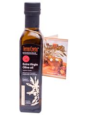 Олія оливкова Terra Creta 0.25л с.б