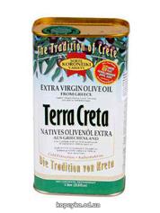 Олія оливкова Terra Creta 1л з.б