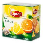 Чай Ліптон 20п citrus пірамідкі