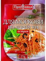 Приправка Приправка 25г д.моркви по-корейськи гостра