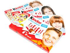 Шоколадний батон Кіндер 100г