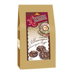 Печиво Стевіясан 130г глазур шоколад
