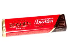 Шоколадний батон Рошен 43г помадні шоколадна начинка