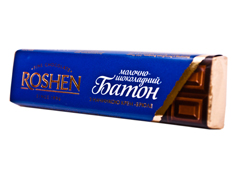 Шоколадний батон Рошен 43г крем брюле