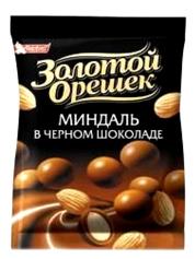 Драже Золотий горішок 100г мигдаль чорний шоколад