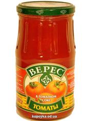 Томаты Верес 800г в томатном соке