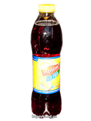 Холодний чай Ліптон 1.5л чорний з лимоном