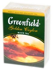 Чай Greenfield 100г голден цейлон