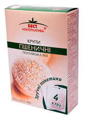 Крупа Бест Альтернатива 4х70г пшенична