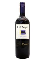 Вино Гато Негро 0.75л кармінер червоне сухе