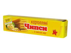Чіпси 0.01 70г сир