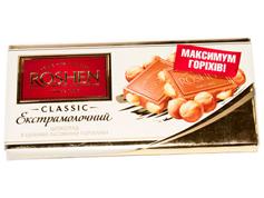 Шоколад Рошен 90г цілий л.горіх екстрамолочний