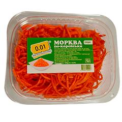 Морковь 0.01 180г средняя по-корейски