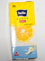 Прокладки гiгiєнiчнi щоденнi BELLA Panty Aroma Energy. (20 шт.)