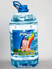 Вода Аквуля 6л дитяча